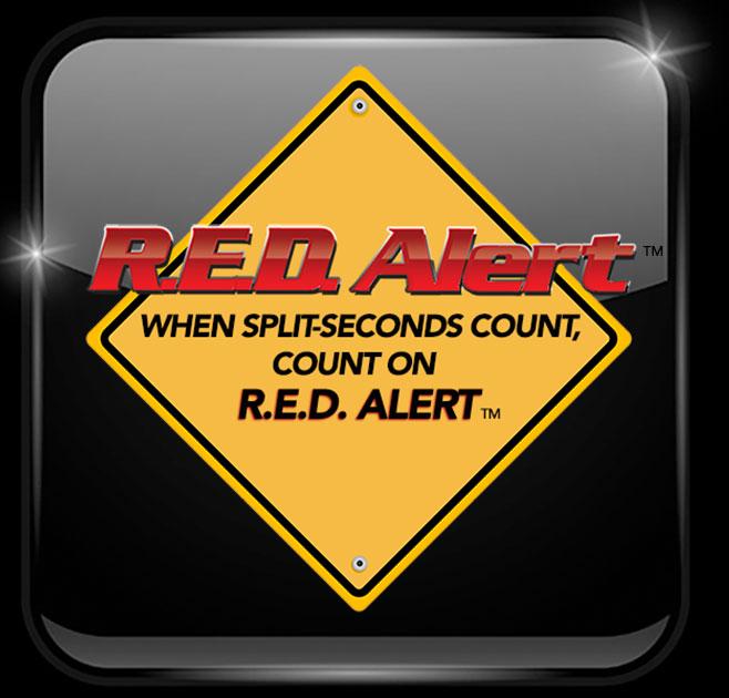 Red Alert Brake Logo